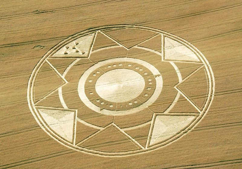 Crop circle...indicateur de temps