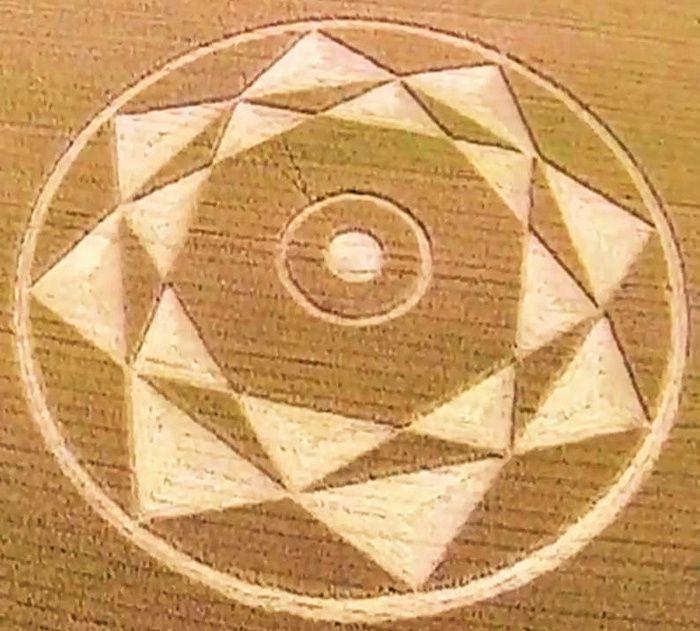 Message crop circle - juin 2015