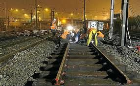 Interruption de la circulation des trains sur la...