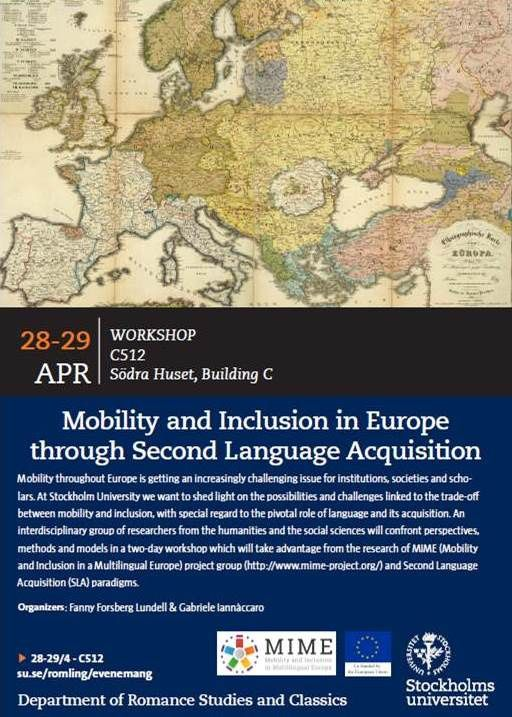 Mobility and Inclusion in Europe through Second Language Acquisition