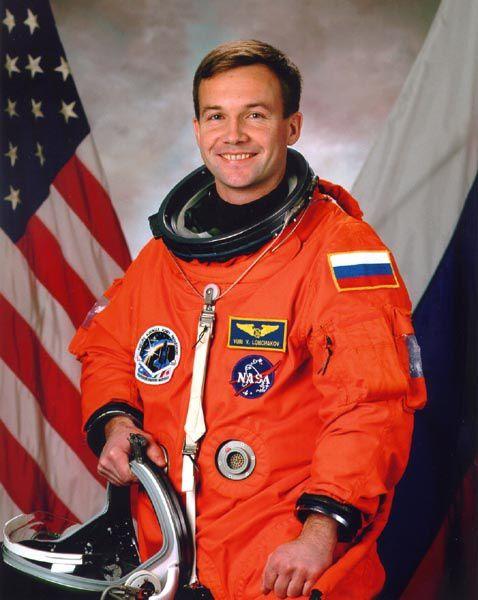 un cosmonaute blasé