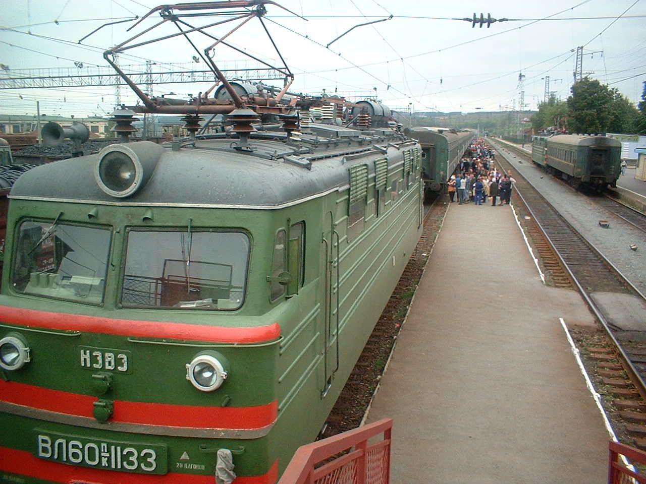 Krasnoufimsk - Changement de locomotive - km 1456