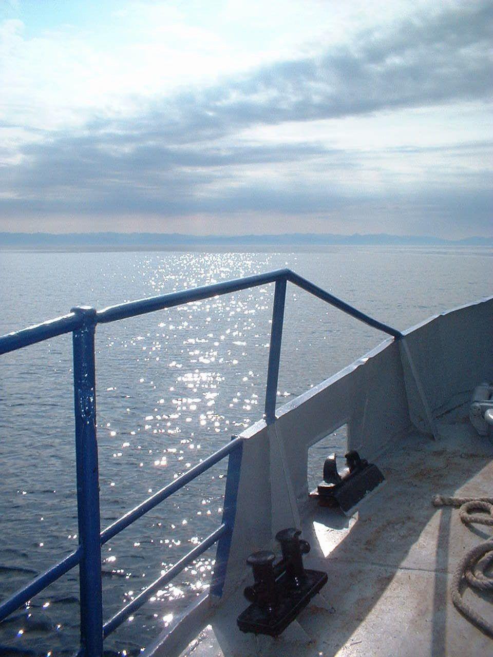 Sur le lac Baïkal