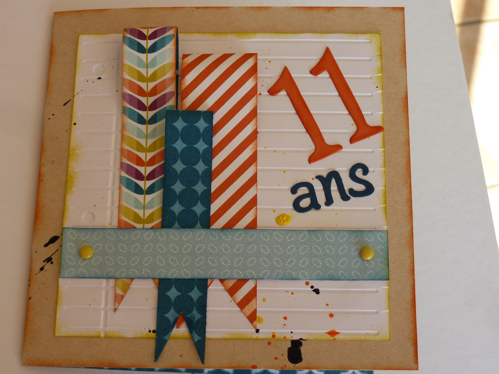 carte anniversaire 11 ans pour gar on le blog de. Black Bedroom Furniture Sets. Home Design Ideas