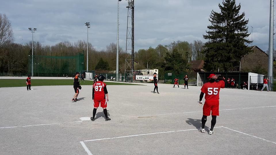 Match de Softball mixte Valenciennes vs. La Madeleine