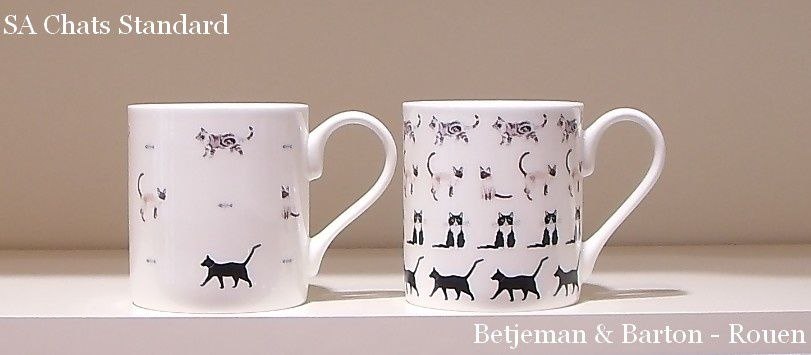 Mugs chiens et chats