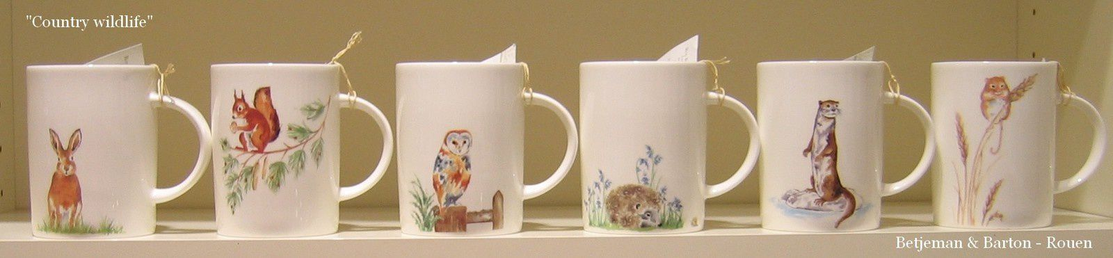 Encore de nouveaux mugs