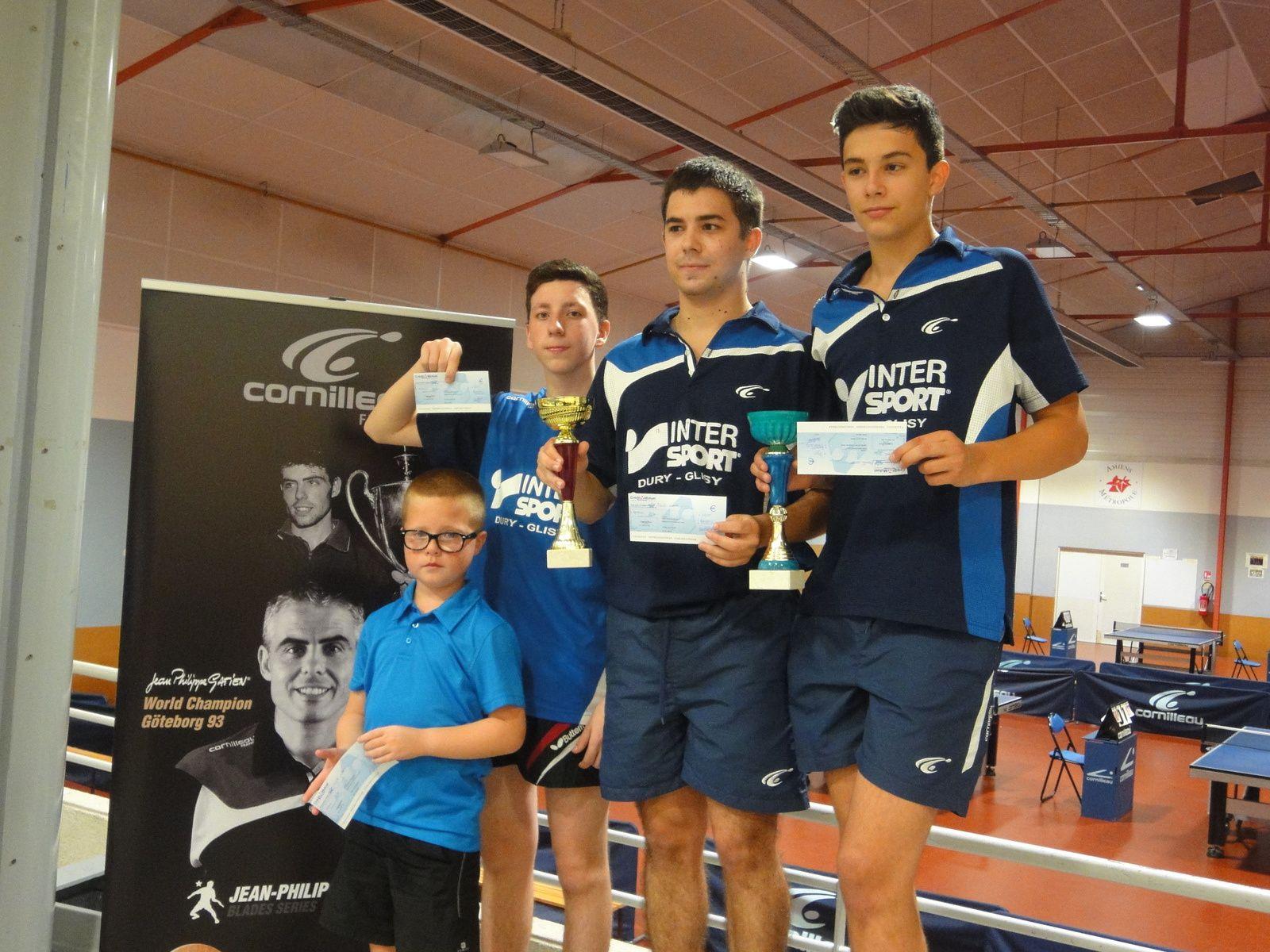 Tournoi National d'Amiens 2014: Doubles