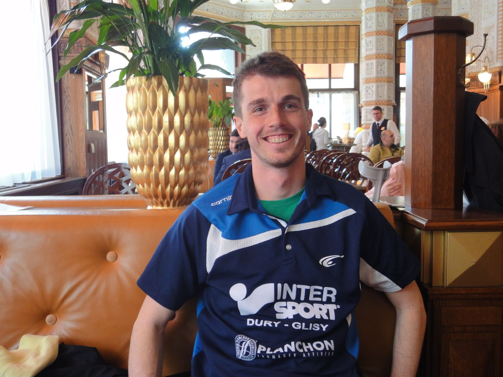 MICHAL OBESLO will play in AMIENS SPORT TABLE TENNIS CLUB in January 2017 !