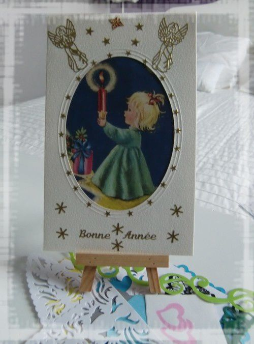 Carte de Chipie et scrapbidules