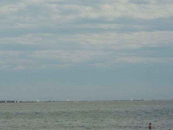 Quelques photos de bord de plage et l'horizon des bleus