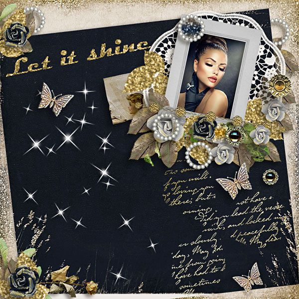 "Ma page ""Let is shine"" de Véro the French Touch"