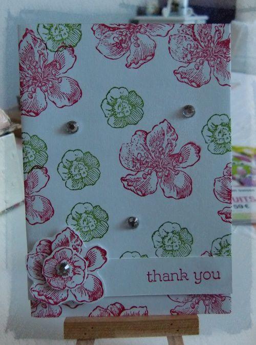 Scrapbidules et carte de remerciements