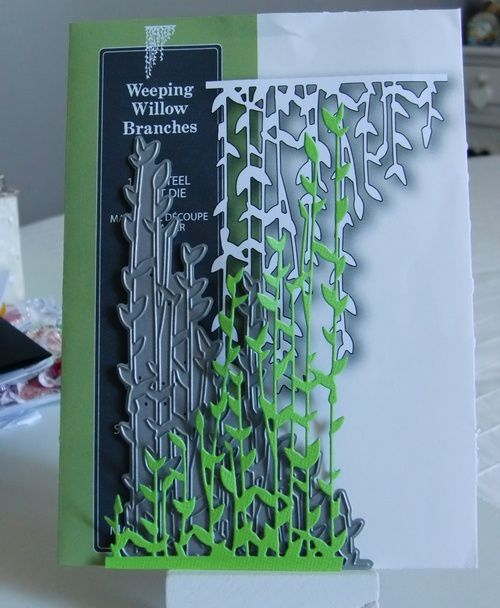 Découpe Weeping Willlow Branches de chez Poppystamps