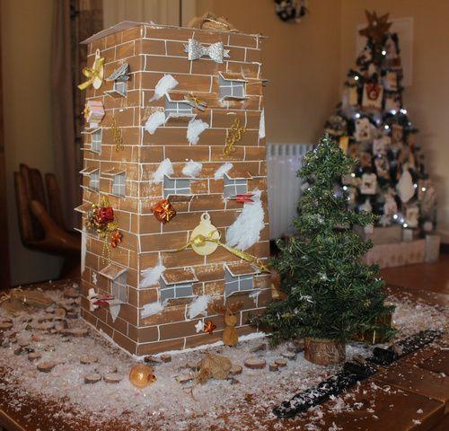 Maison de Noël par Cattt