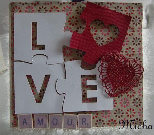 Puzzle amitié/amour