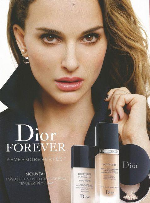 Nathalie Portman et Johnny Depp pour Dior