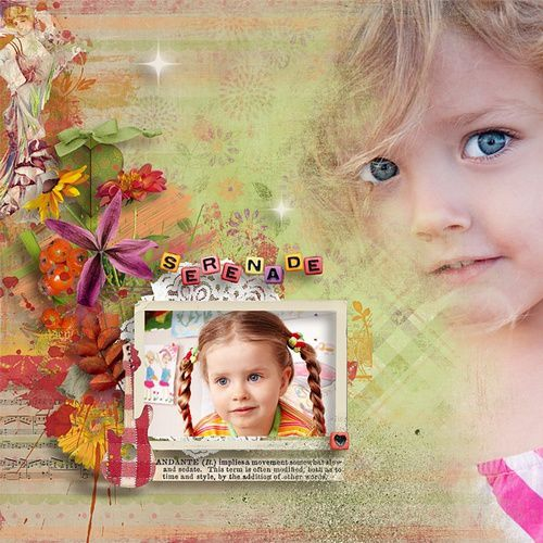 "Kit ""Autumn serenade"" par Vero The French Touch"