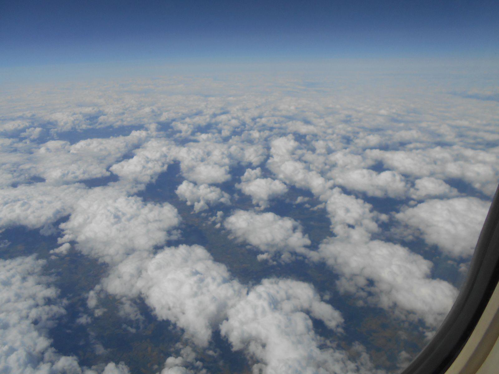 Au dessus des nuages...