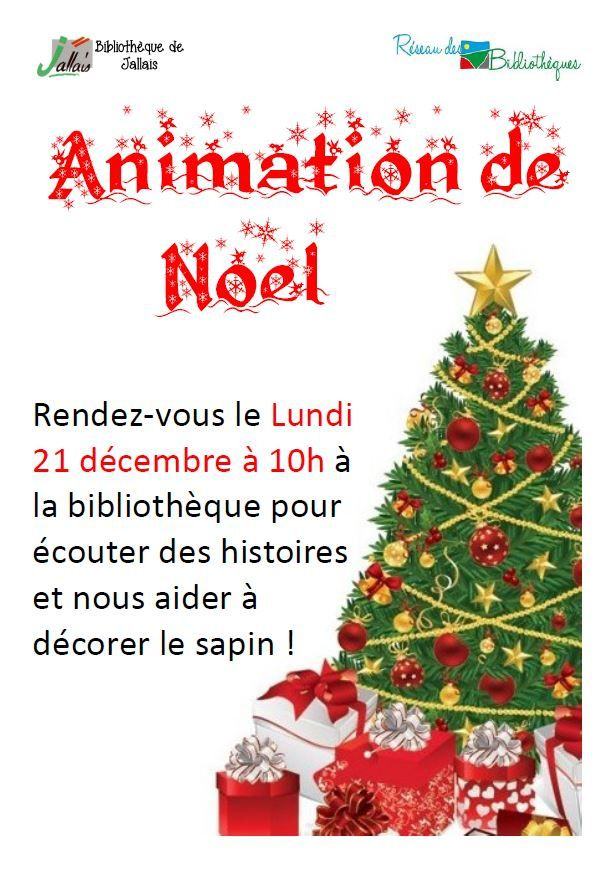 Animation de Noël à Jallais