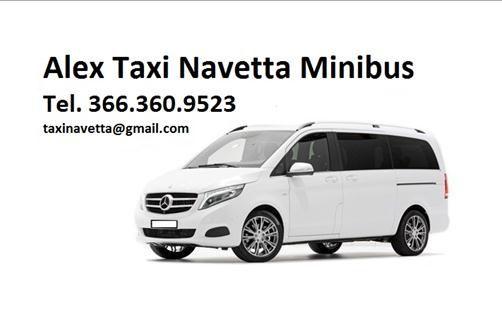 Taxi 5/6/7/8 Posti Aeroporto Bologna Tel. 366.360.9523