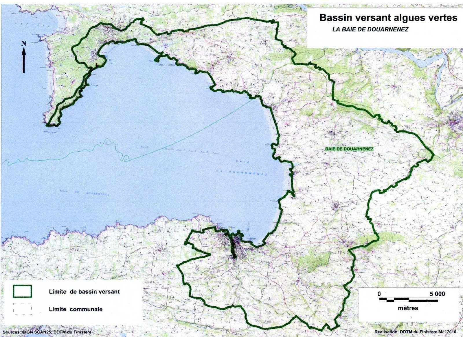 Données Baie de Douarnenez