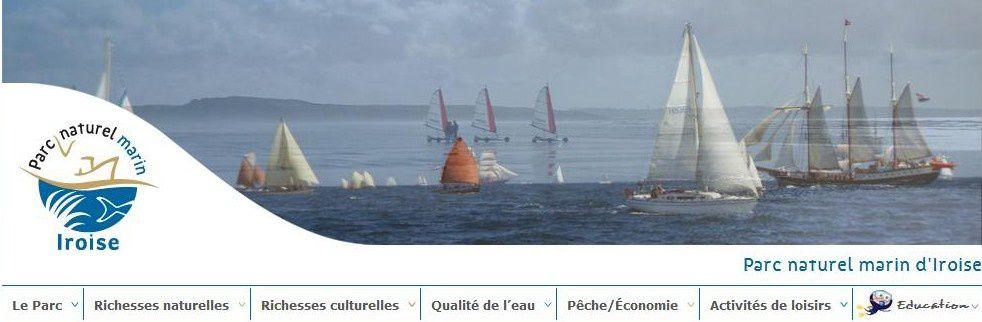 Questions des associations BDZE/GAMA/DEMEL au Parc marin de l'Iroise : extraction de sable, ramassage dans le rideau, site internet