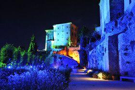 Illuminations 2013 des terrasses du château de Lauris sous la direction de Philippe Romieu