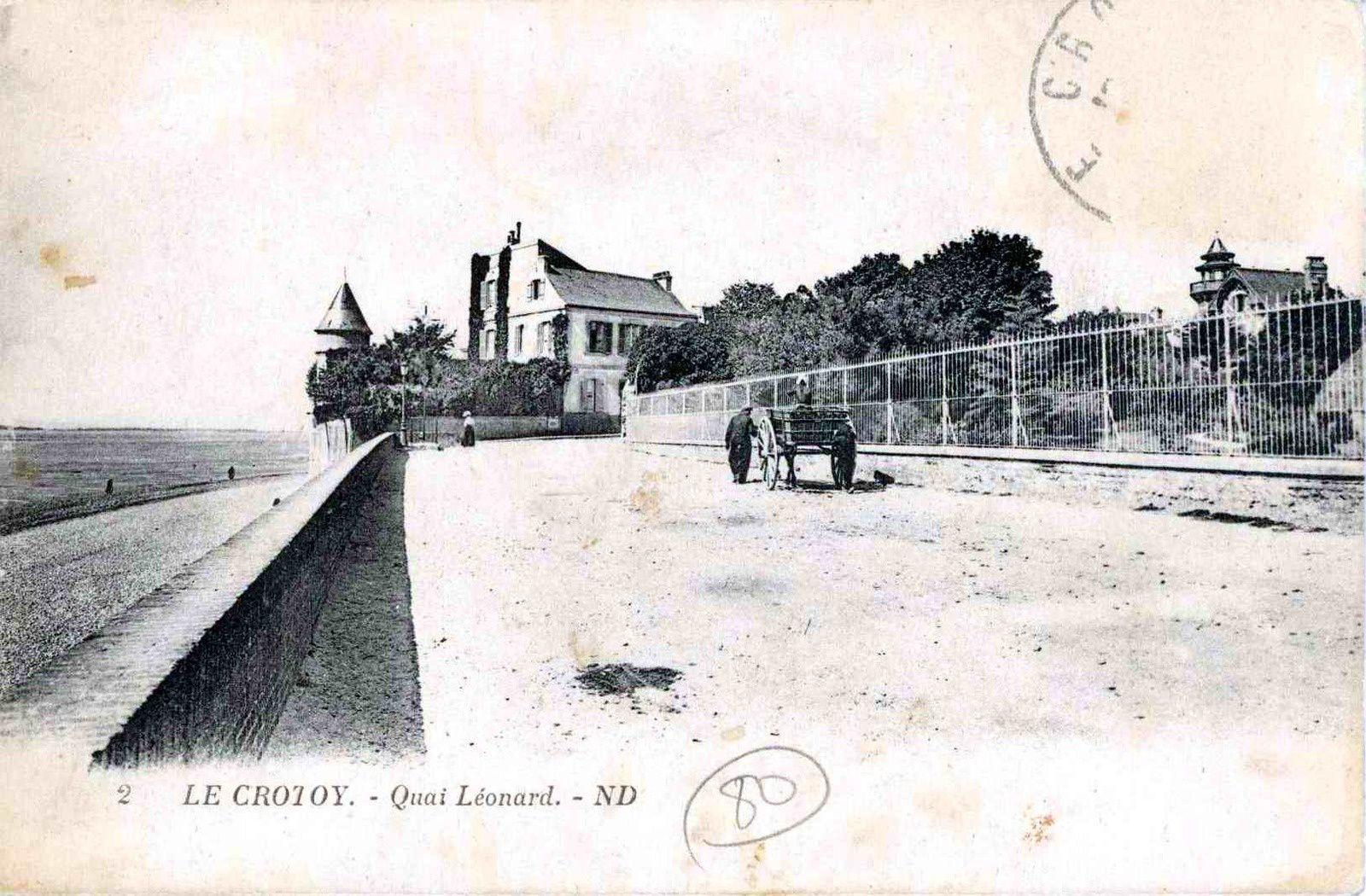 le crotoy, sur la plage