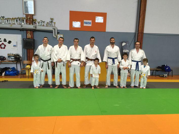 Avant le tournoi du club c'est judo familles et pour tous le samedi  à 11h 00
