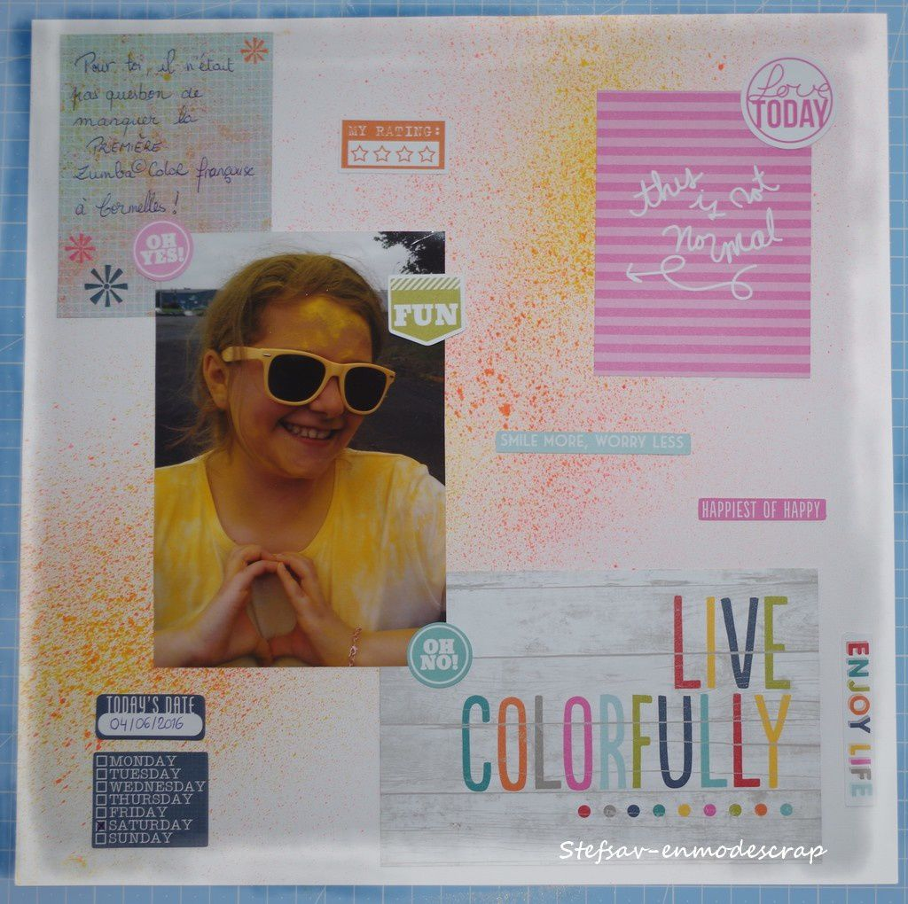 Live colorfully...