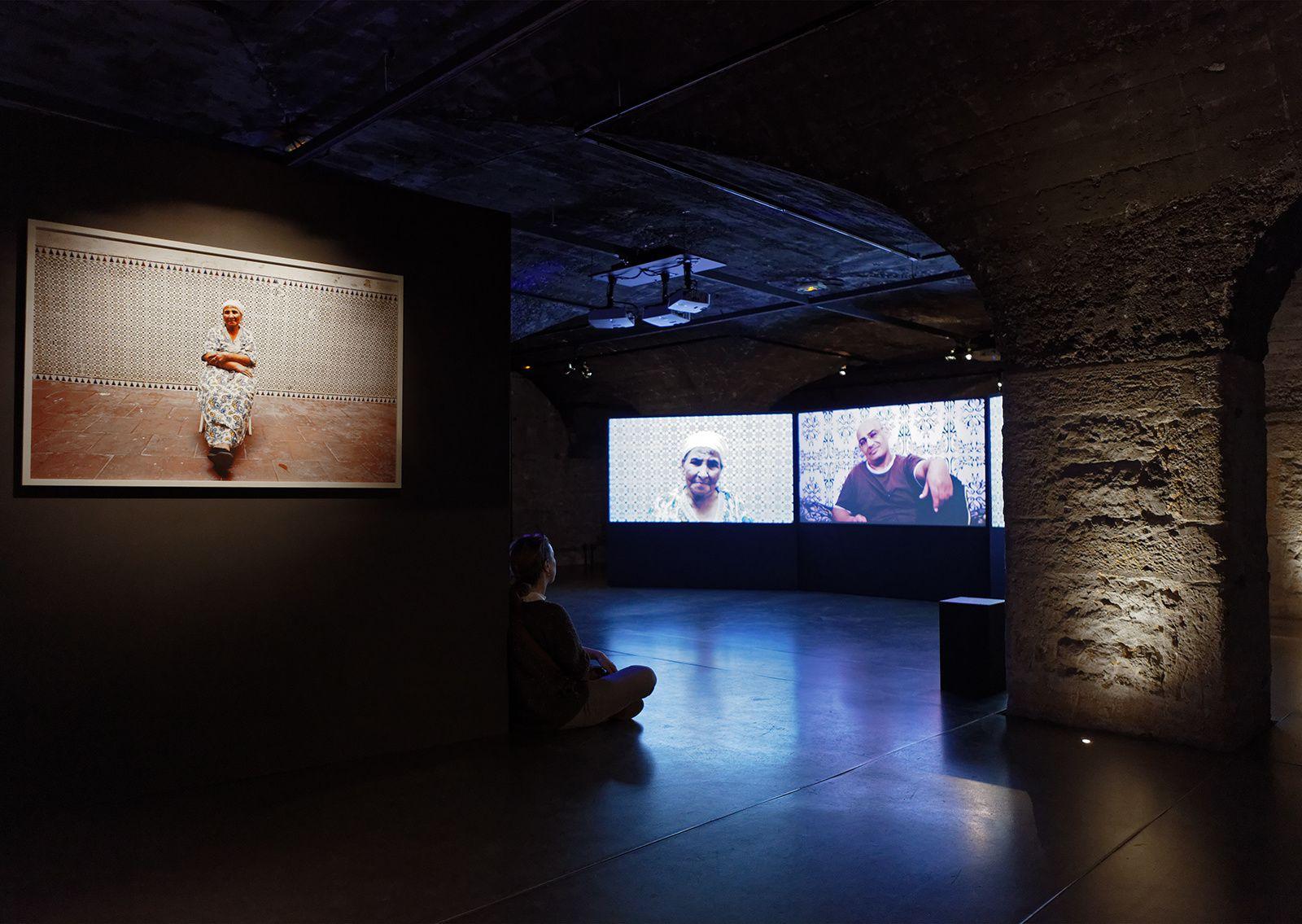 """Vue de l'exposition """"Rêver d'un autre monde"""" / CHRD / copyright Pierre Verrier"""