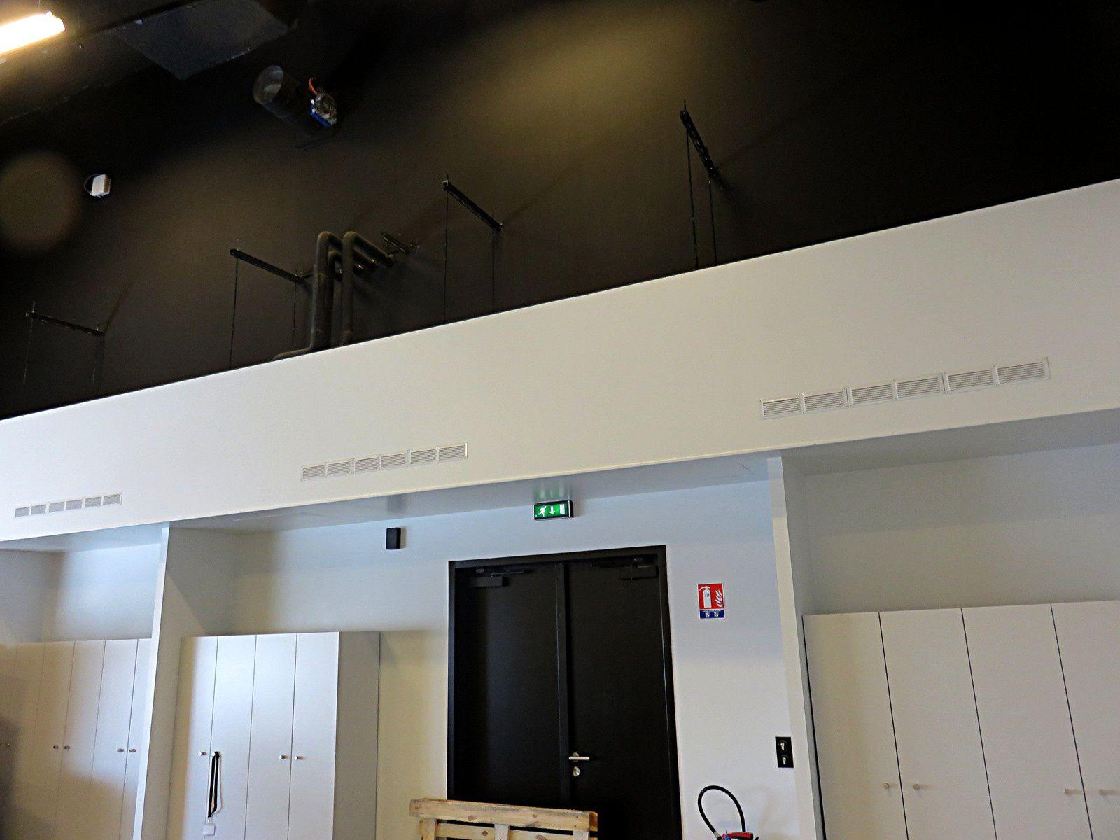 Vue de l'atelier 4 au Musée des Confluences