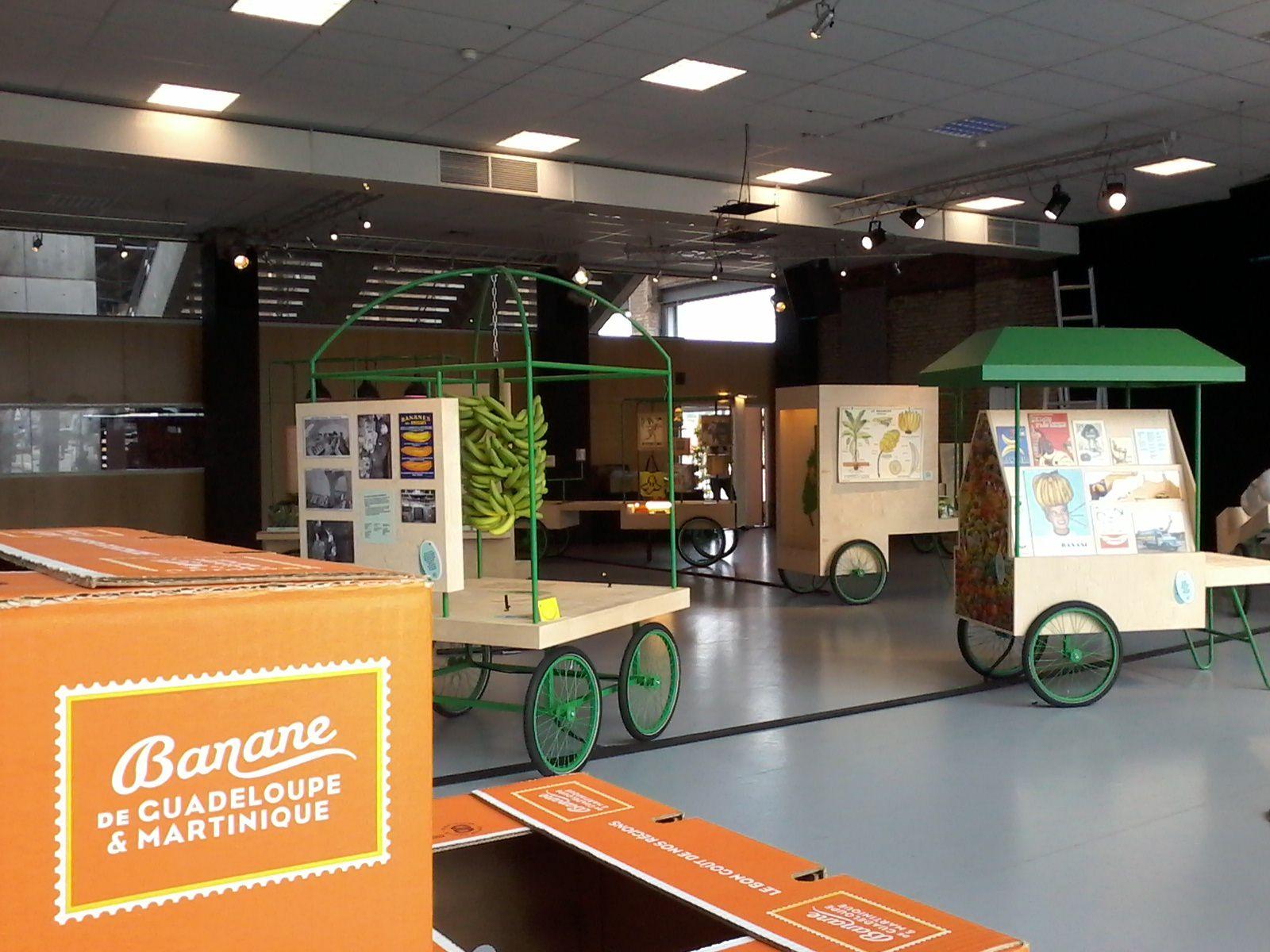 Vue de l'exposition au Havre / scénographie Scenorama
