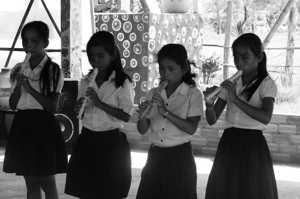 Musique traditionelle khmère - instruments - comme en rêvent les enfants