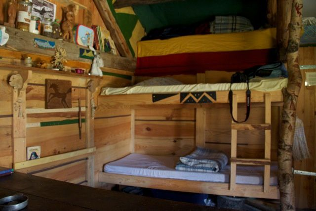 Une cabane pour vivre la montagne