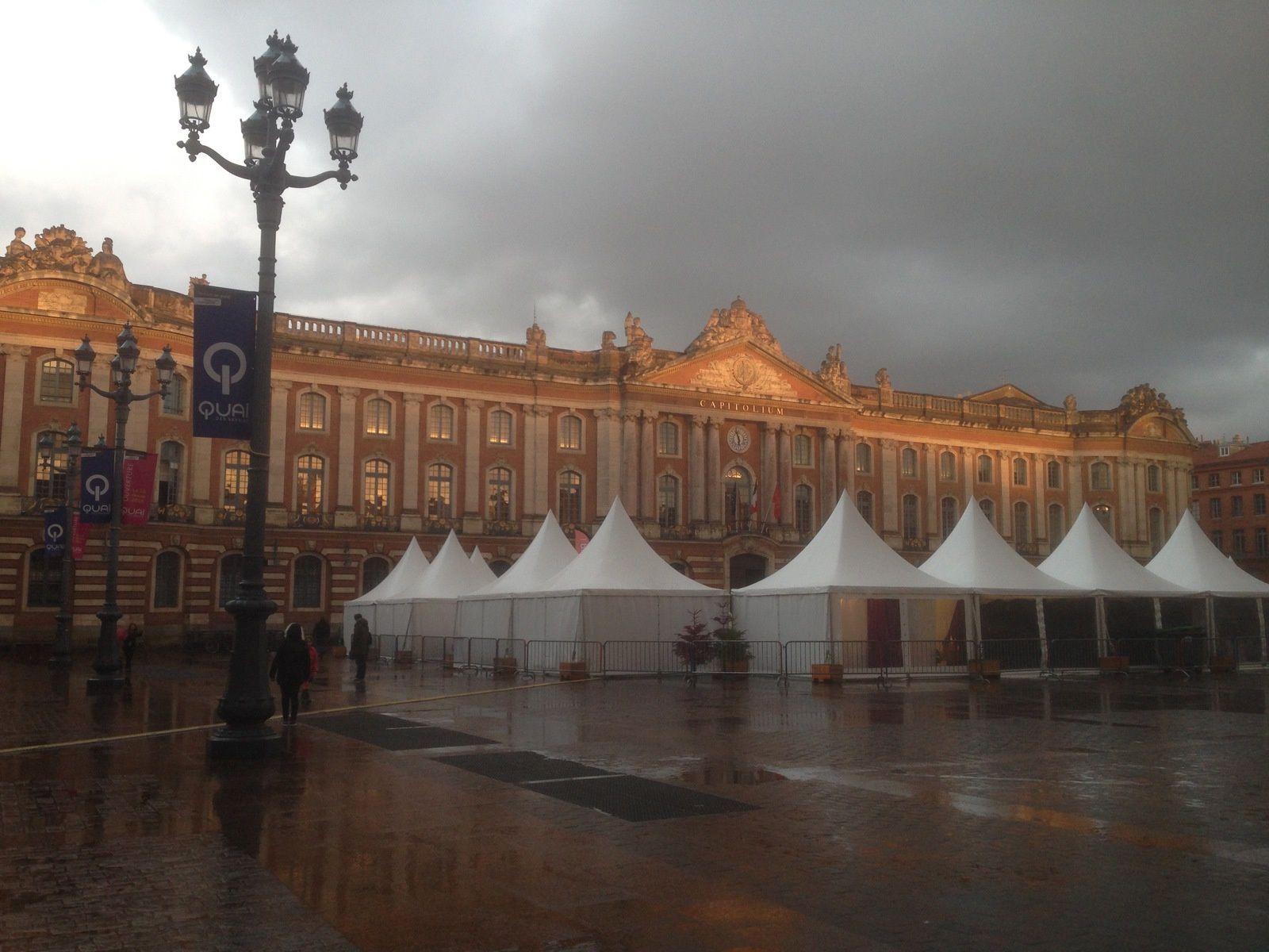Toulouse sous la pluie