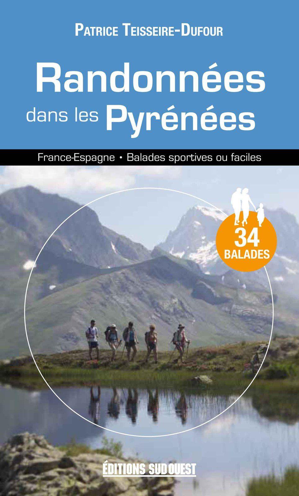 Parution de mon guide de rando dans les Pyrénées