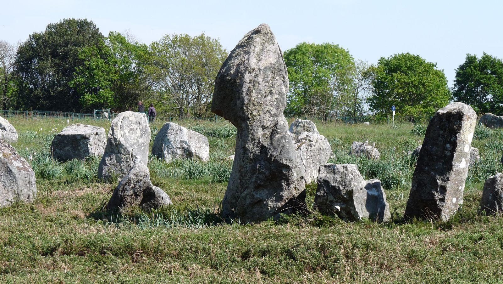 4 000 menhirs érigés entre 5 000 et 2 000 avant J.C, alignés sur plus de 4 kilomètres