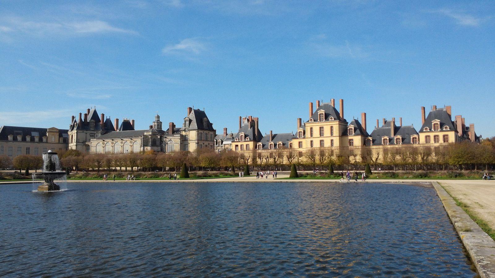 Château de fontainebleau - Le Parc - Couleurs d'Automne.