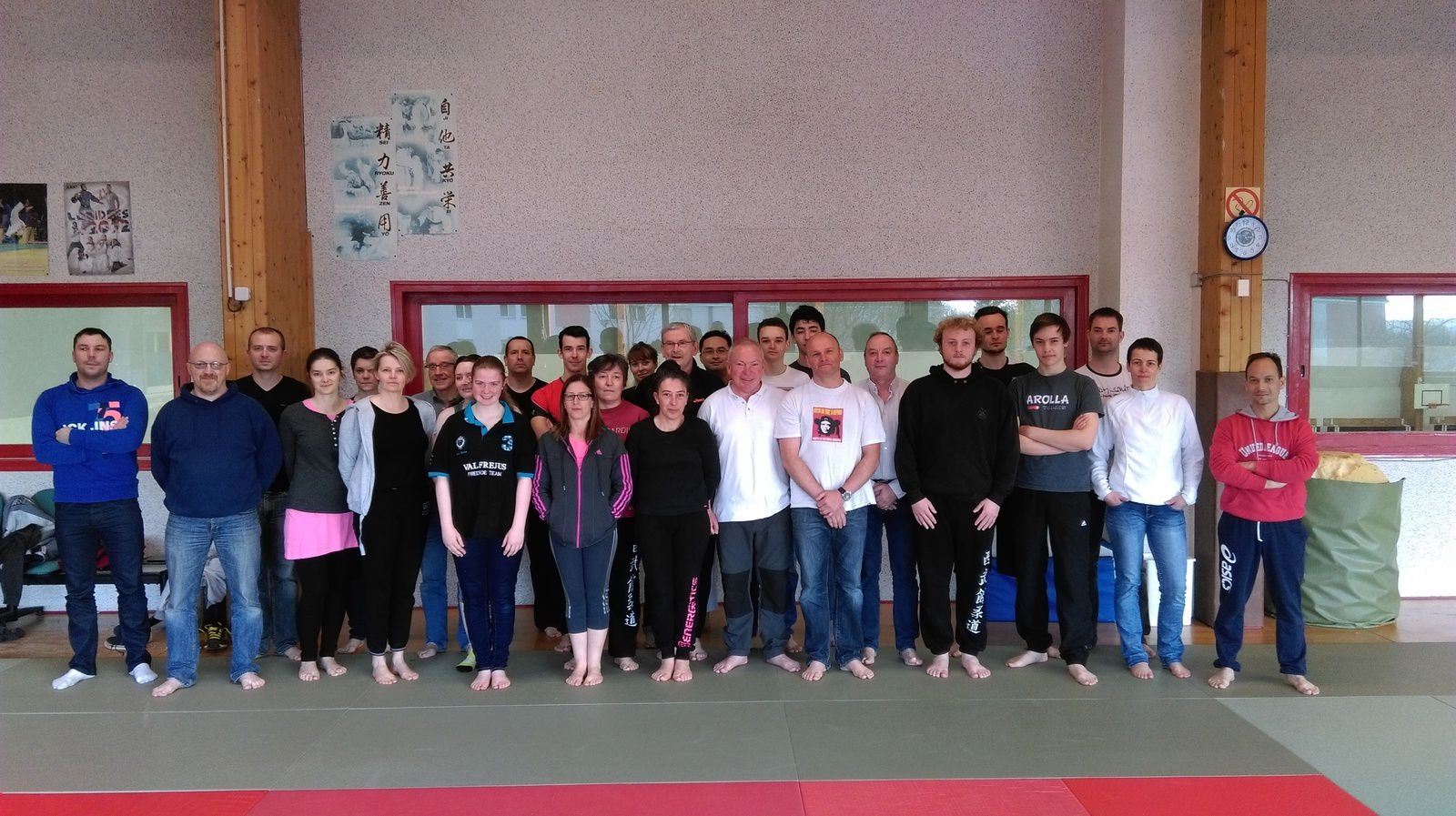 Stage de self defense départemental à Briec