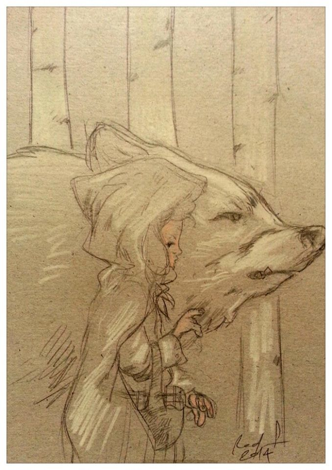 The  Red Cap and the Wolf