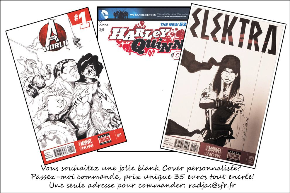 Commande Blank cover!