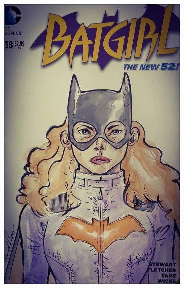 Une petite Blank Cover de Batgirl