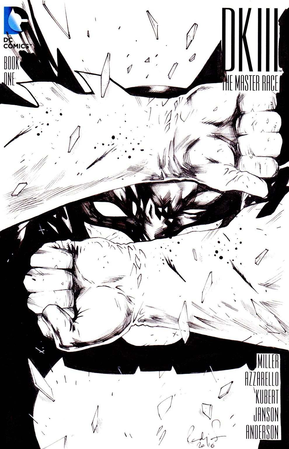 Original Dark Knight blankcover