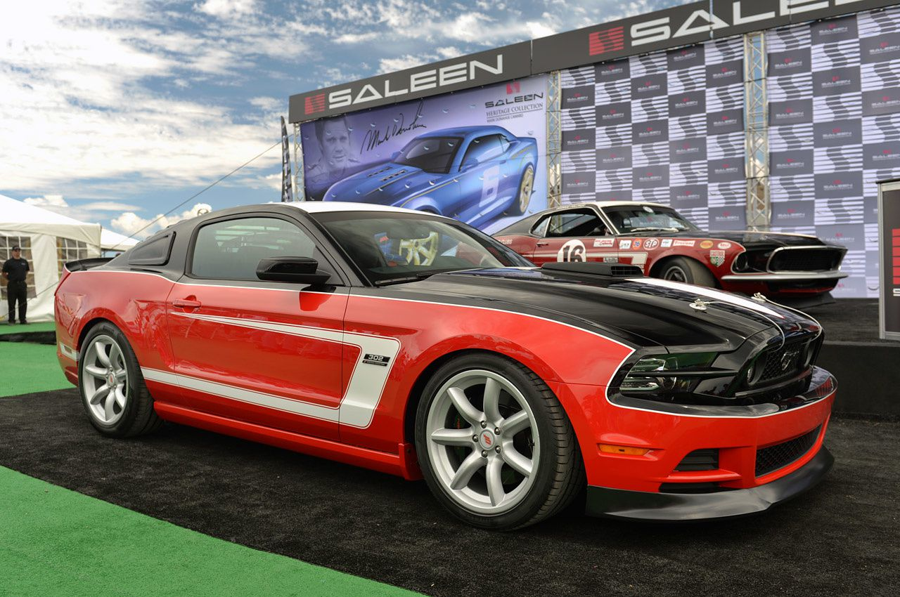 saleen revives heritage collection with 2014 george follmer edition mustang flc blog. Black Bedroom Furniture Sets. Home Design Ideas