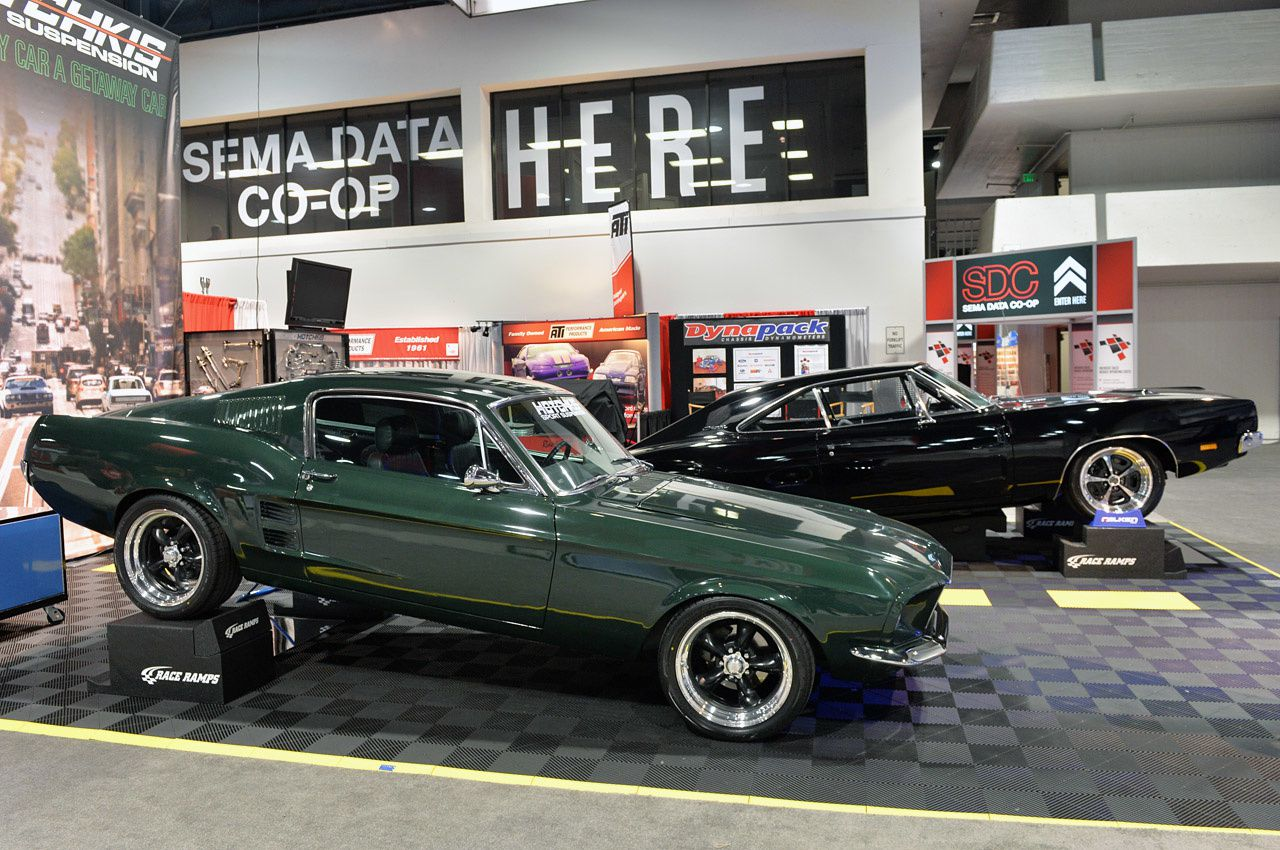 Sema 2013 Hotchkis Shows Off New Classic Mustang