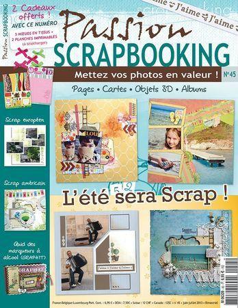 "Blog candy chez""Passion scrapbooking""..."
