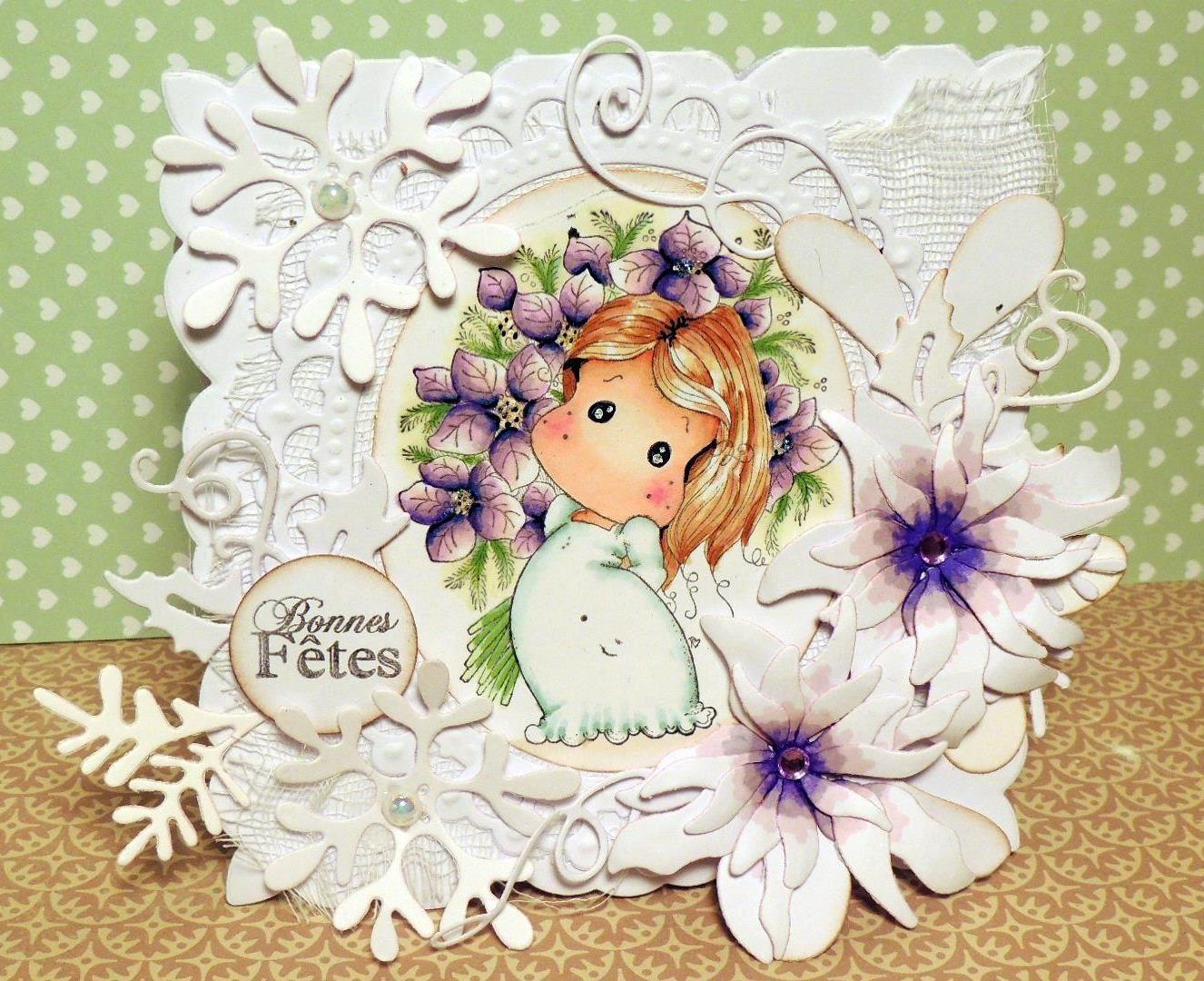 DT magnolia forever:rappel challenge du 1 décembre...
