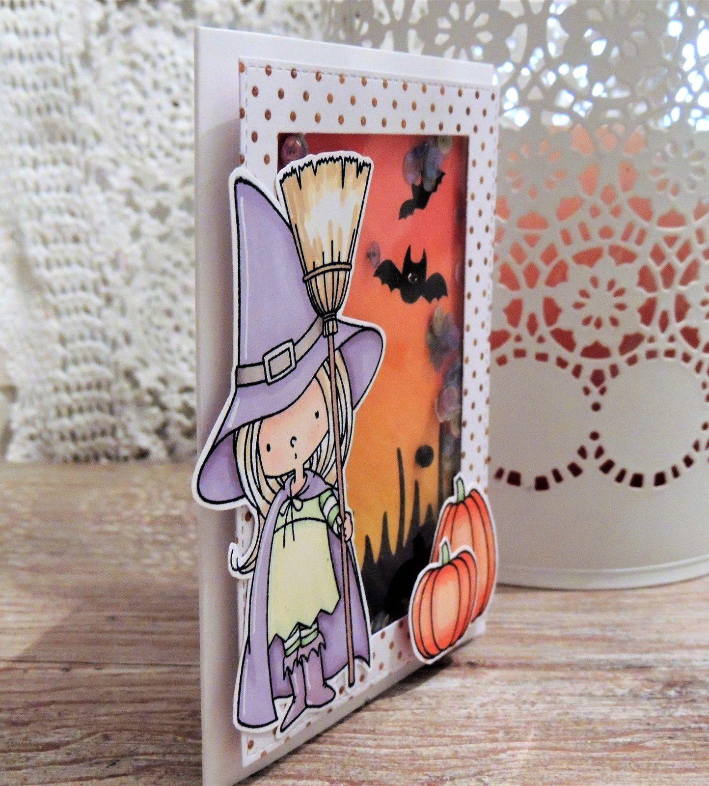 2 petites cartes pour Halloween...